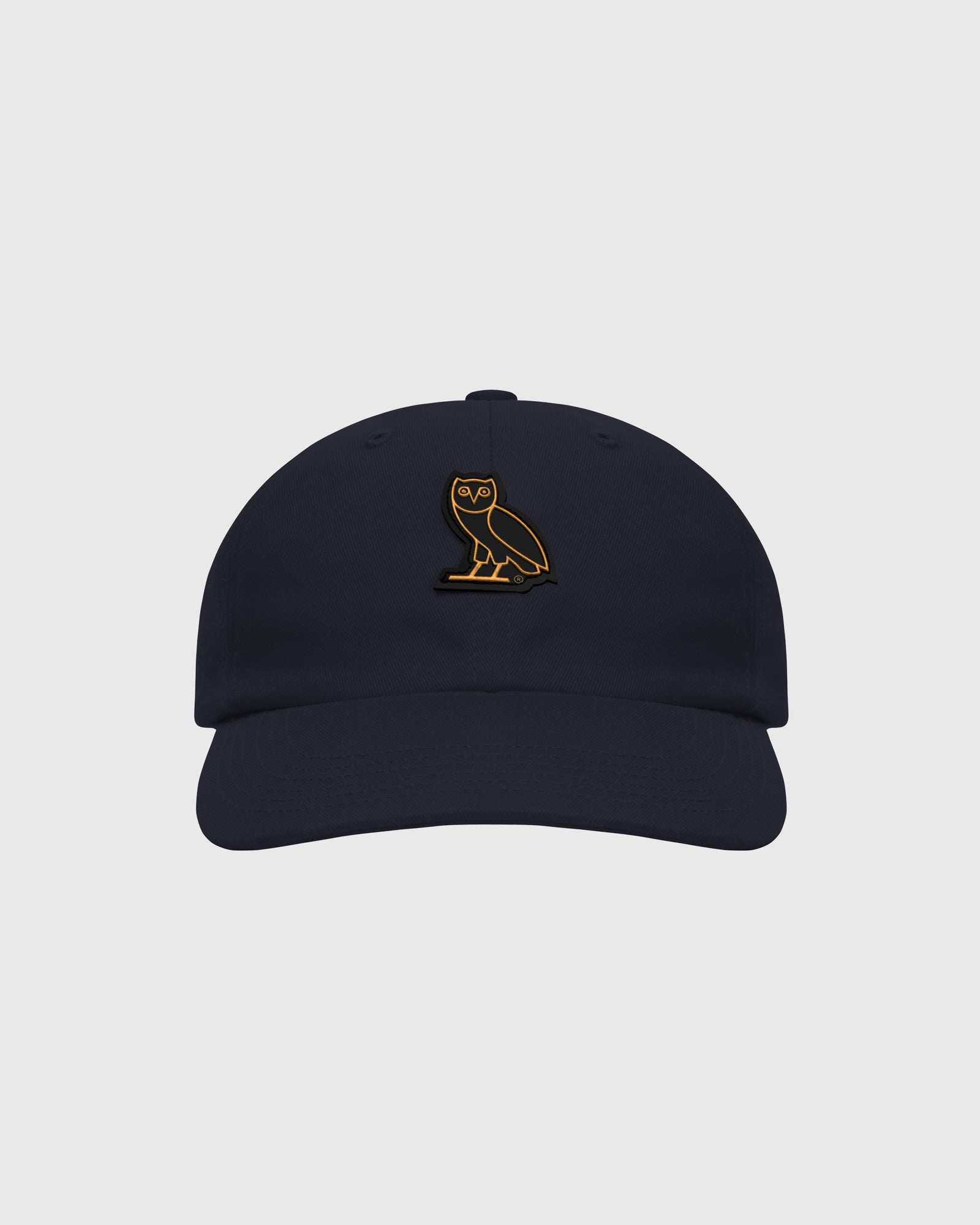 OVO COTTON TWILL CAP - NAVY IMAGE #1