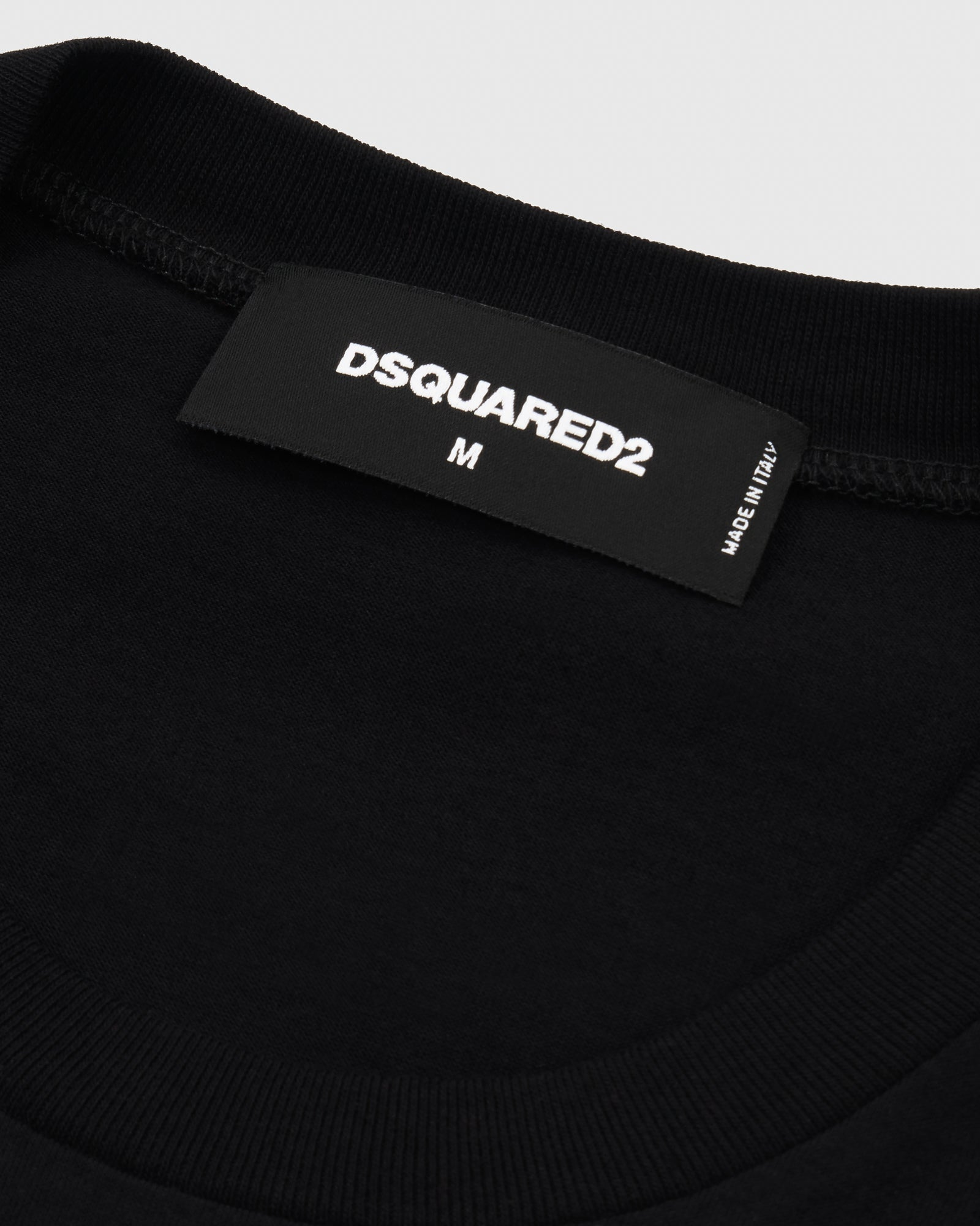 OVO x DSQUARED2 T-SHIRT - BLACK IMAGE #4