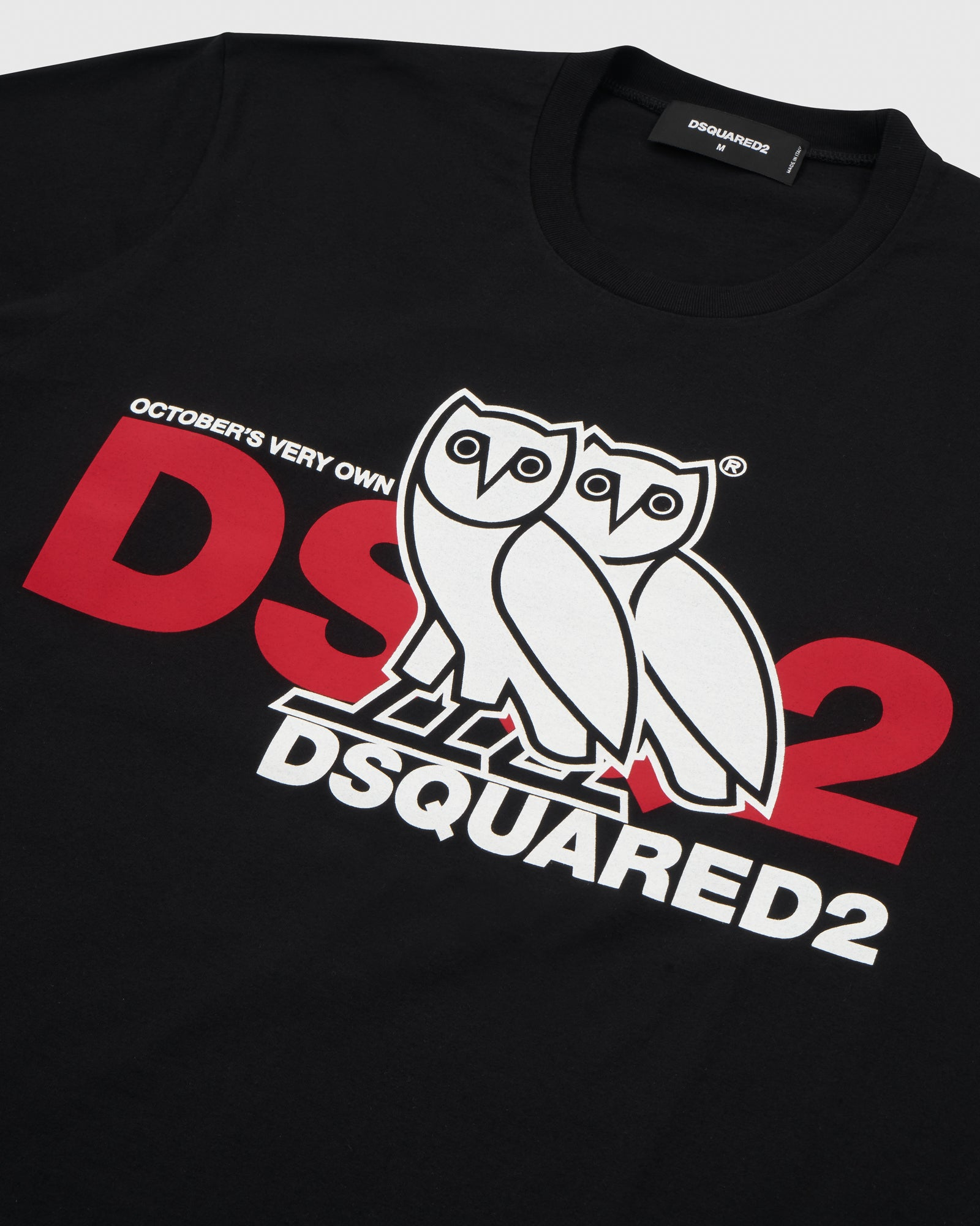 OVO x DSQUARED2 T-SHIRT - BLACK IMAGE #3