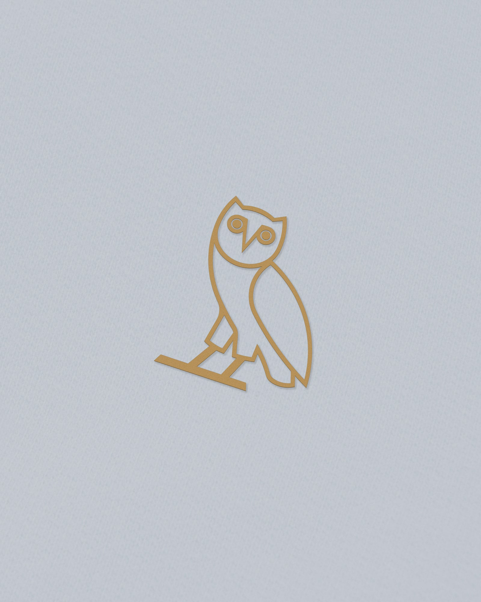 OWL T-SHIRT - LIGHT BLUE