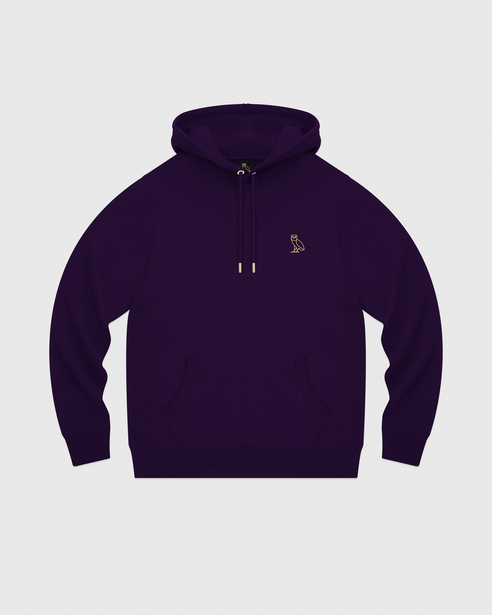 MID-WEIGHT FRENCH TERRY HOODIE - PURPLE