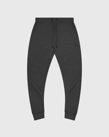 MID-WEIGHT FRENCH TERRY SWEATPANT - HEATHER CHARCOAL