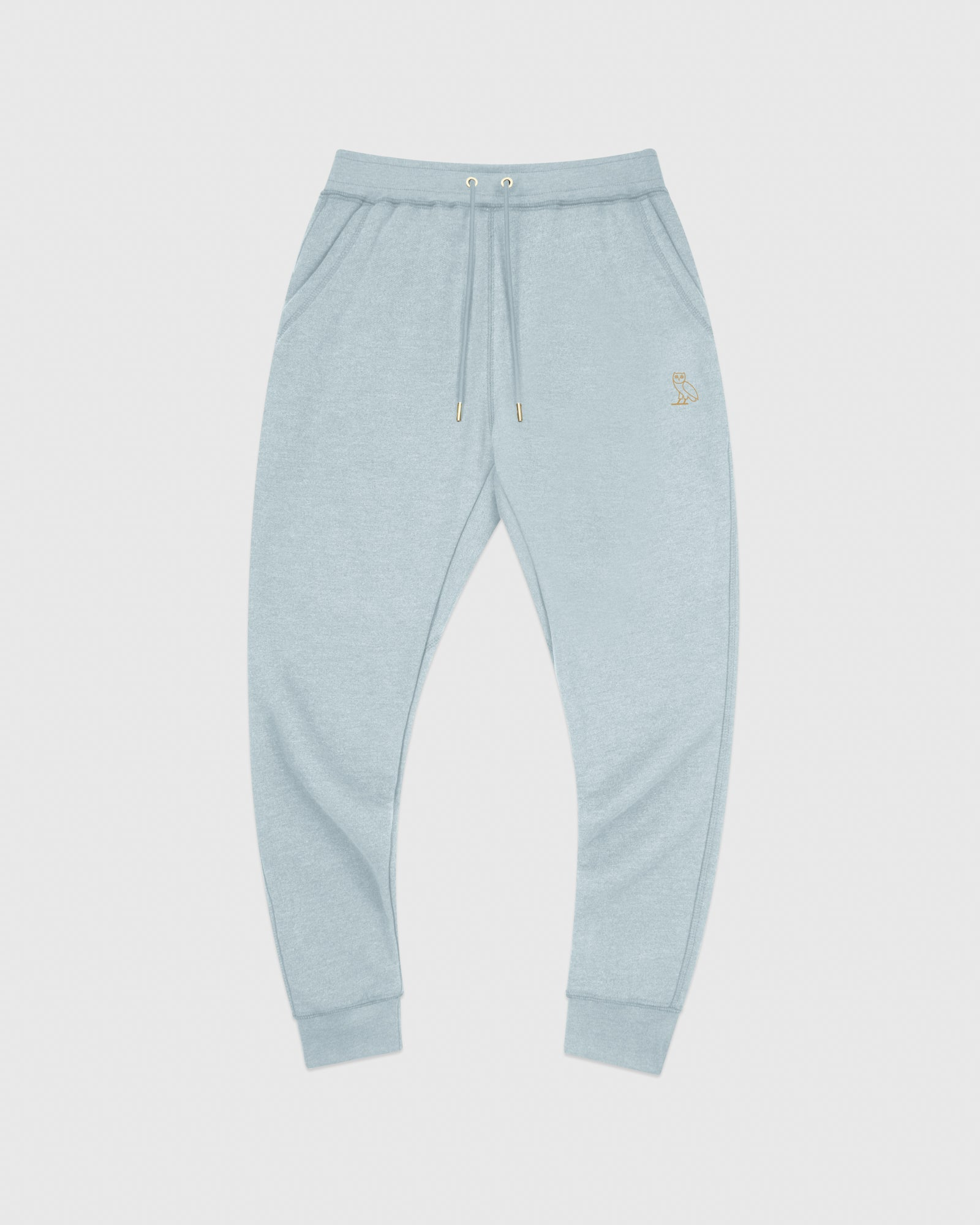 OVO FRENCH TERRY SWEATPANT - HEATHER LIGHT BLUE IMAGE #1