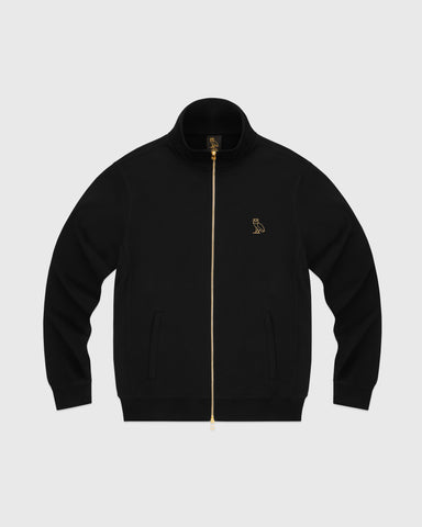 OVO FRENCH TERRY ZIP JACKET - BLACK