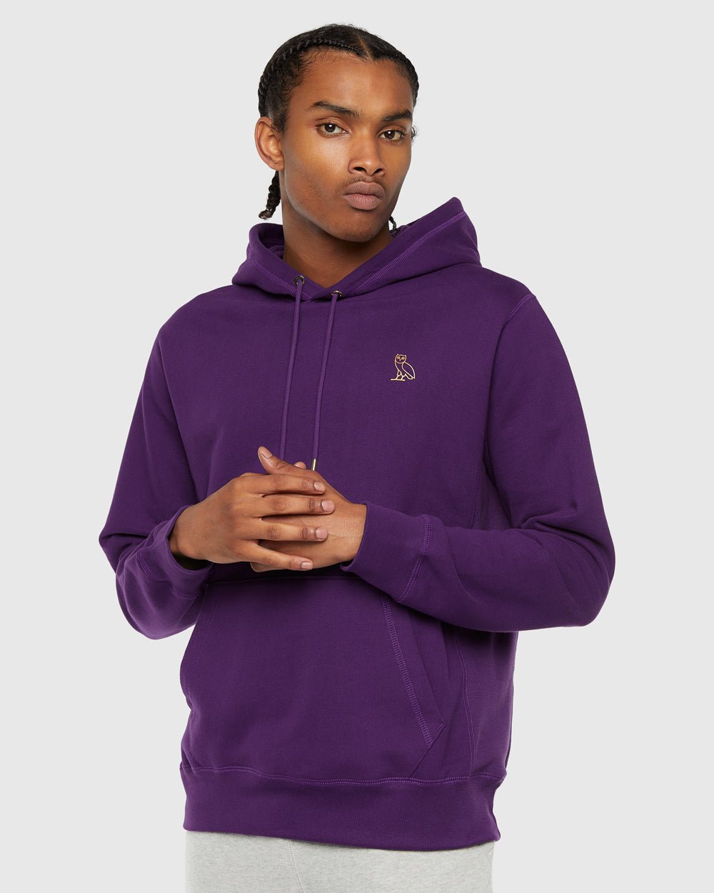 OVO FRENCH TERRY HOODIE - PURPLE