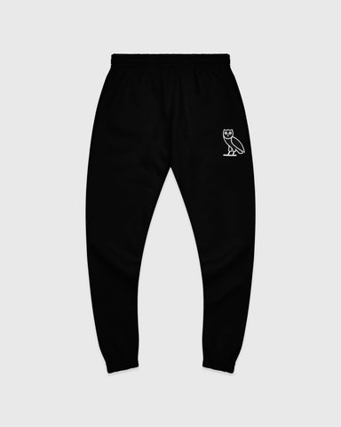 OVO AFTER DARK OWL SWEATPANT - BLACK