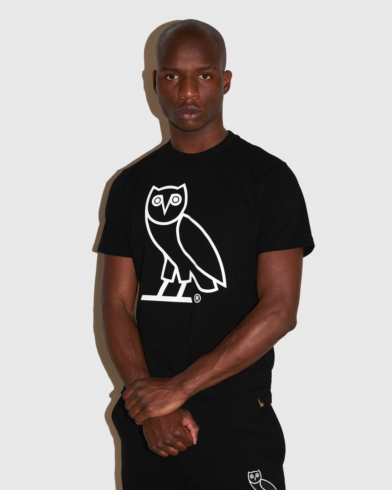 OVO AFTER DARK OWL T-SHIRT - BLACK IMAGE #2