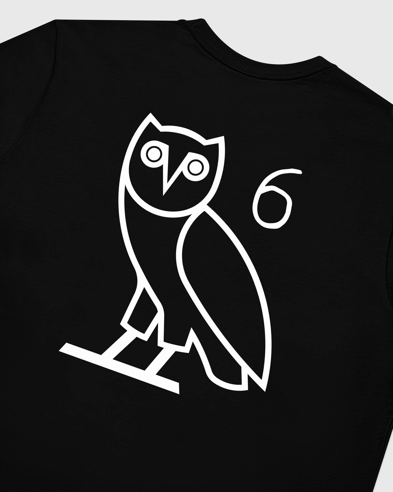 6 OWL LONG SLEEVE T-SHIRT - BLACK IMAGE #6