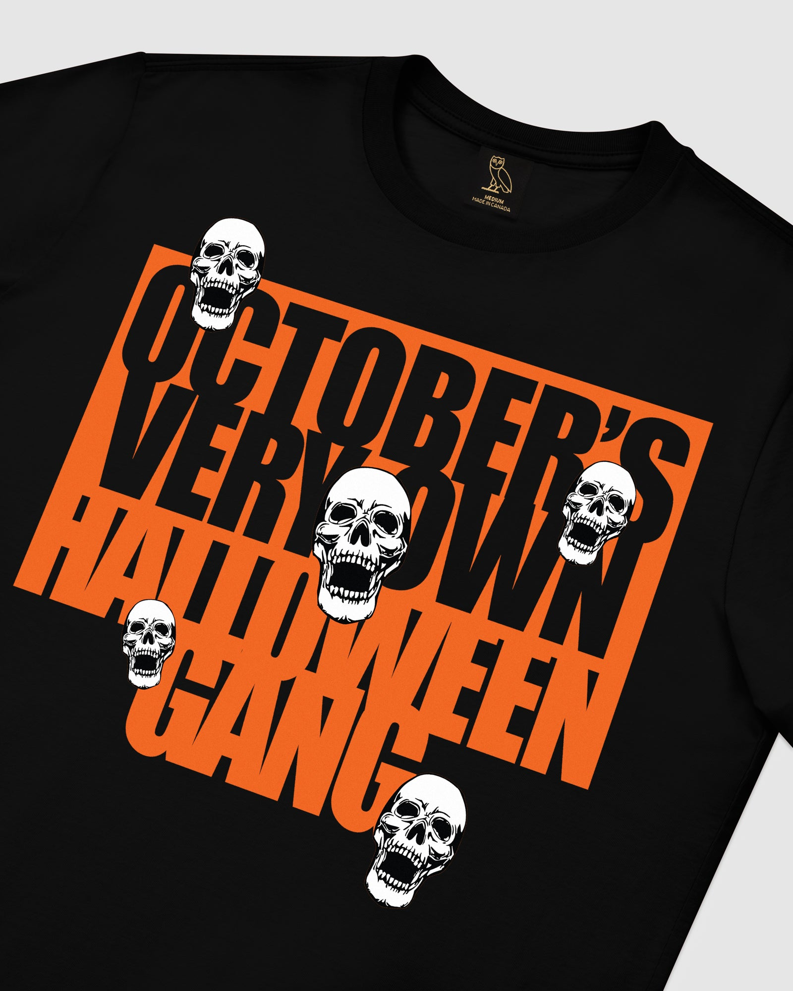 HALLOWEEN GANG T-SHIRT - BLACK IMAGE #4