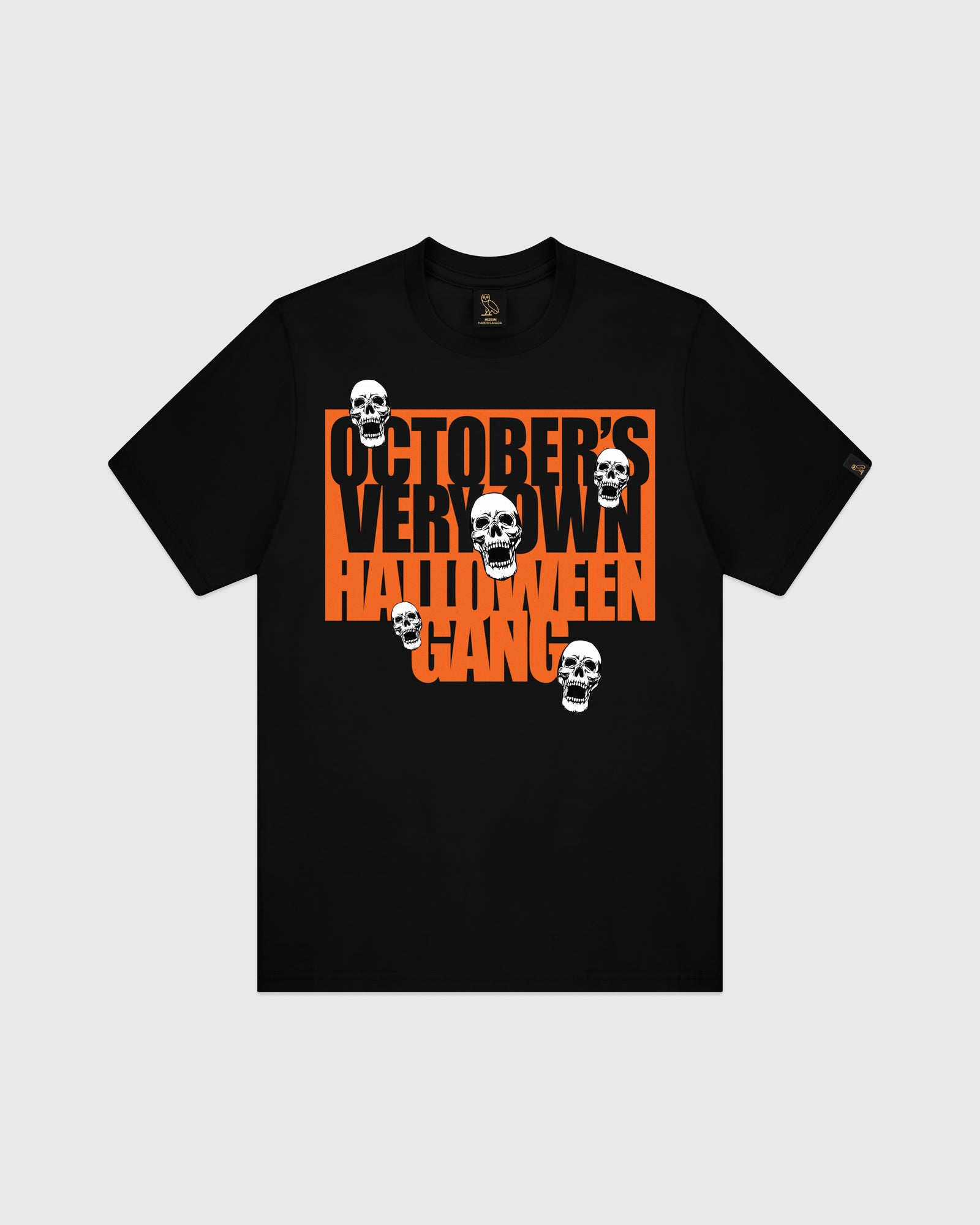 HALLOWEEN GANG T-SHIRT - BLACK IMAGE #1