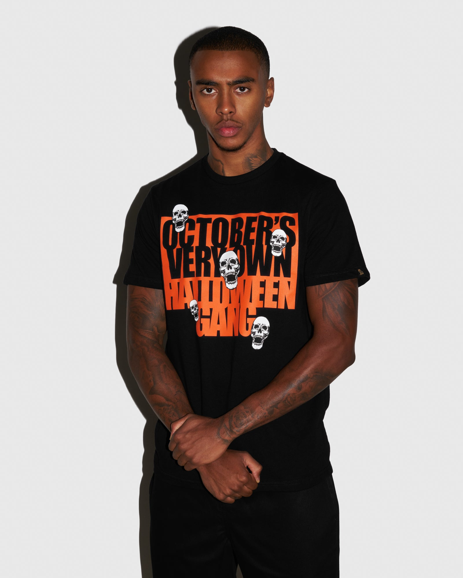HALLOWEEN GANG T-SHIRT - BLACK IMAGE #2