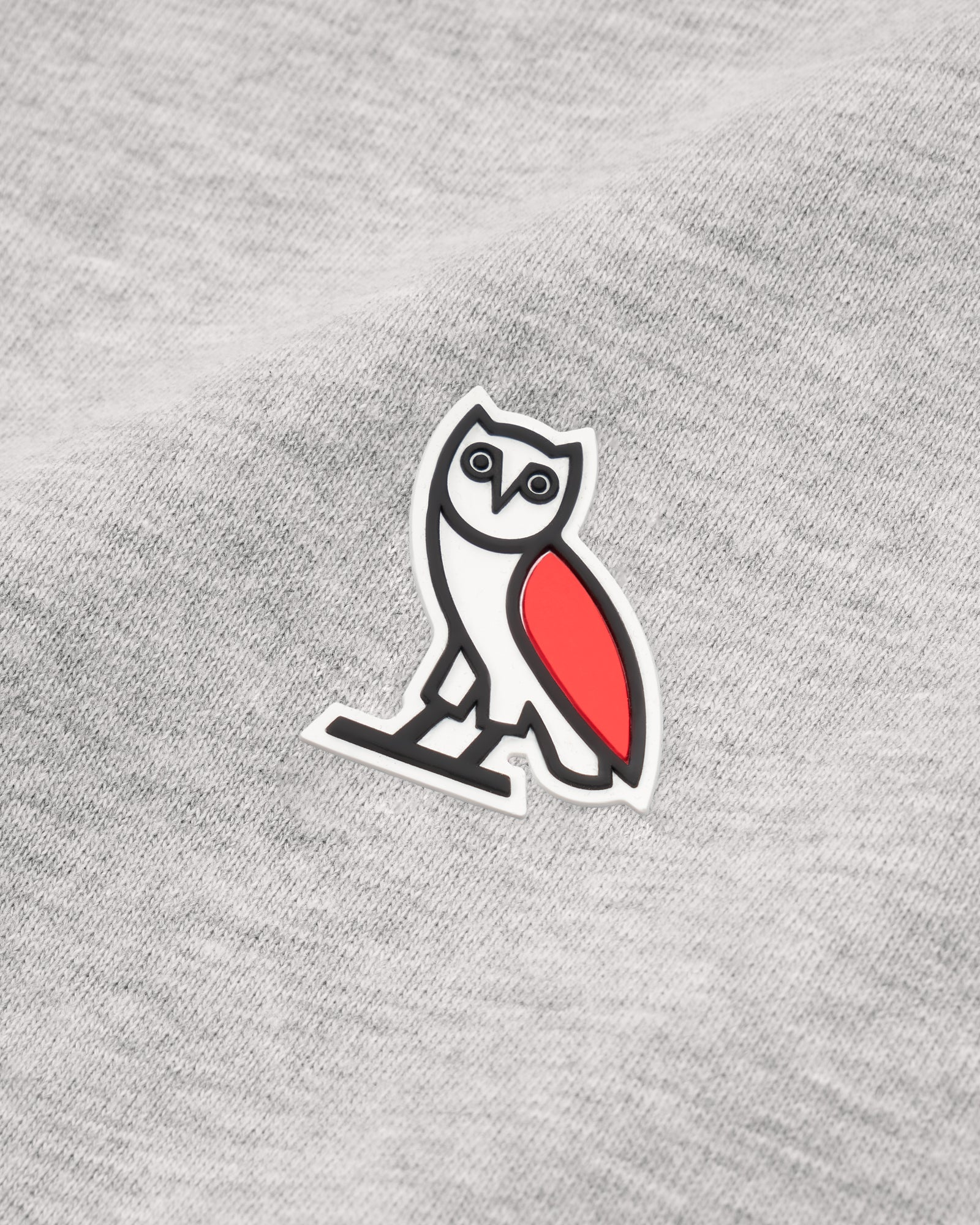 OVO LIGHTWEIGHT HOODIE - HEATHER GREY