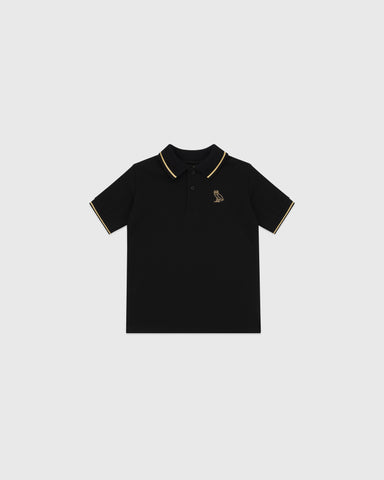 OVO KIDS POLO - BLACK