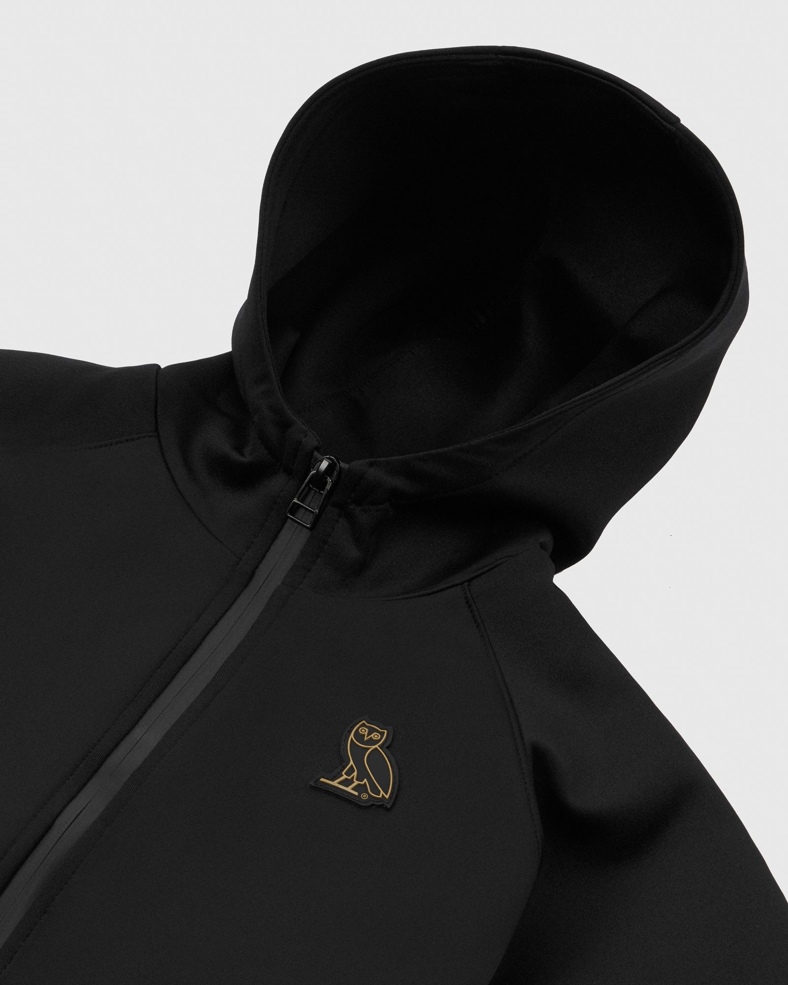 OVO KIDS INTERLOCK JACKET - BLACK IMAGE #3