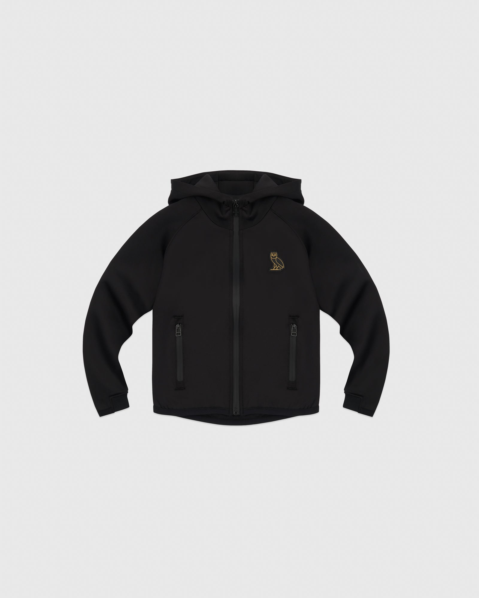 OVO KIDS INTERLOCK JACKET - BLACK IMAGE #1