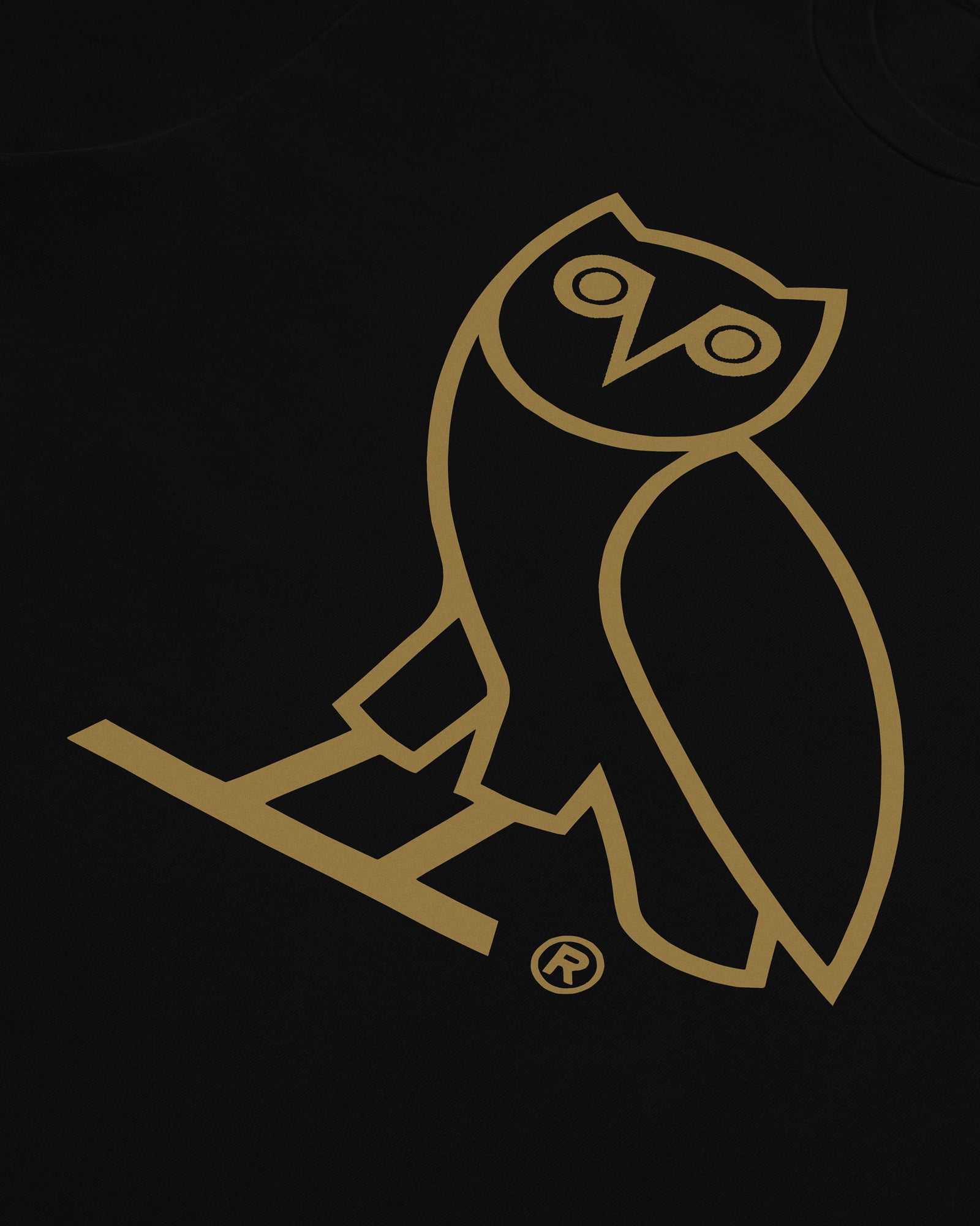 KIDS OG OWL T-SHIRT - BLACK IMAGE #3