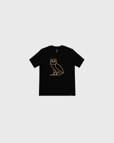 OVO KIDS OG OWL T-SHIRT - BLACK