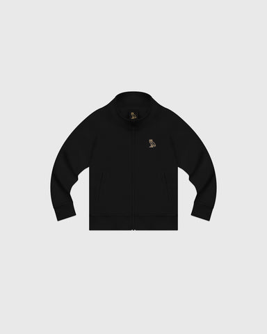 OVO KIDS PIQUE JACKET - BLACK