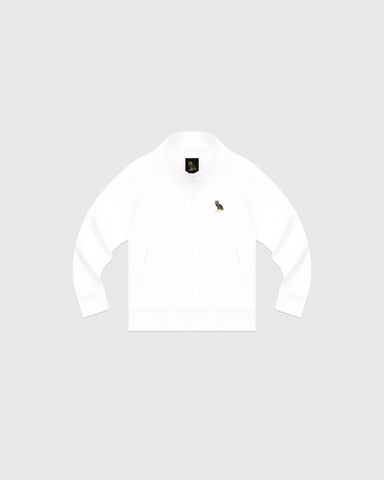 OVO KIDS PIQUE JACKET - WHITE