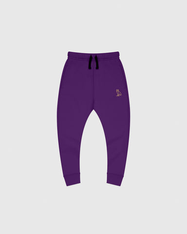 OVO KIDS SWEATPANT - PURPLE