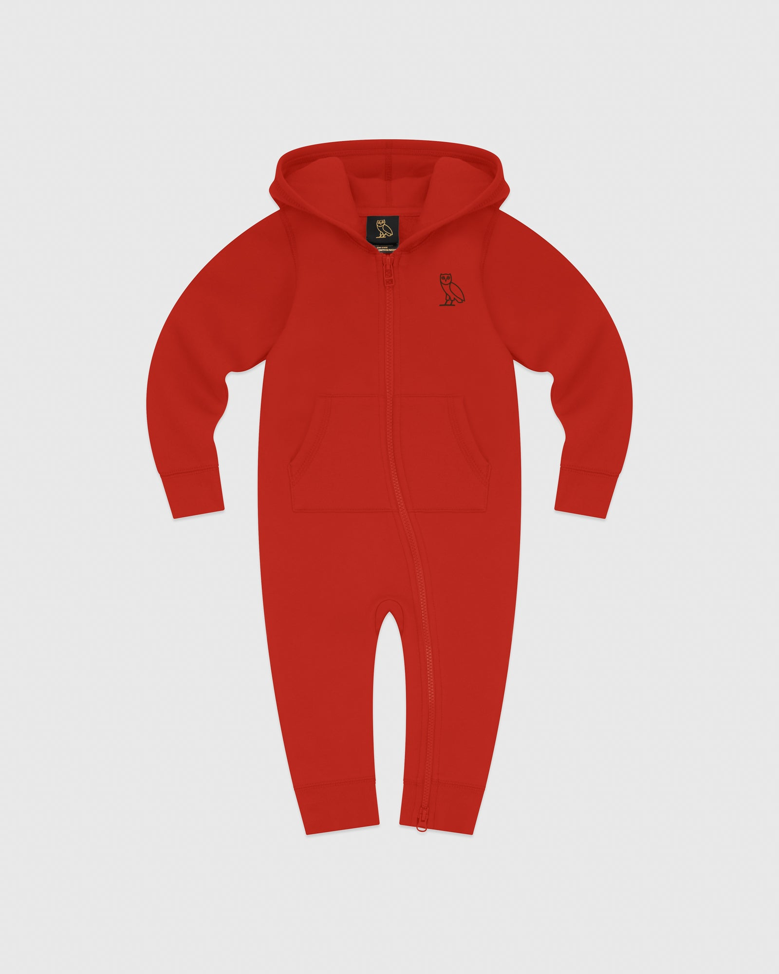 KIDS ROMPER - RED IMAGE #1