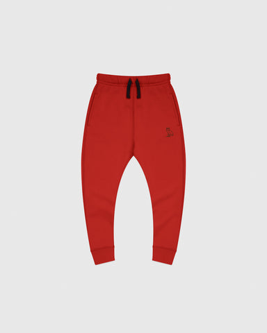 OVO KIDS SWEATPANT - RED