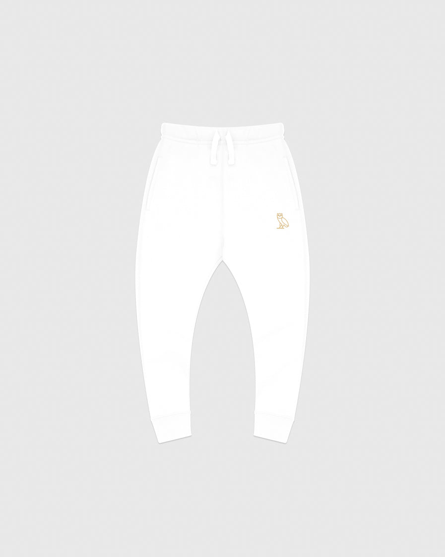 OVO KIDS SWEATPANT - WHITE