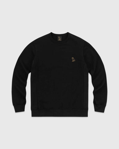 OVO ESSENTIALS CREW - BLACK