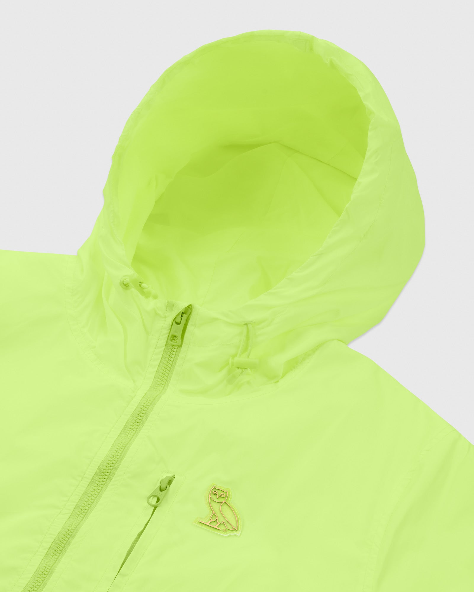 OVO NYLON PACKABLE JACKET - NEON GREEN