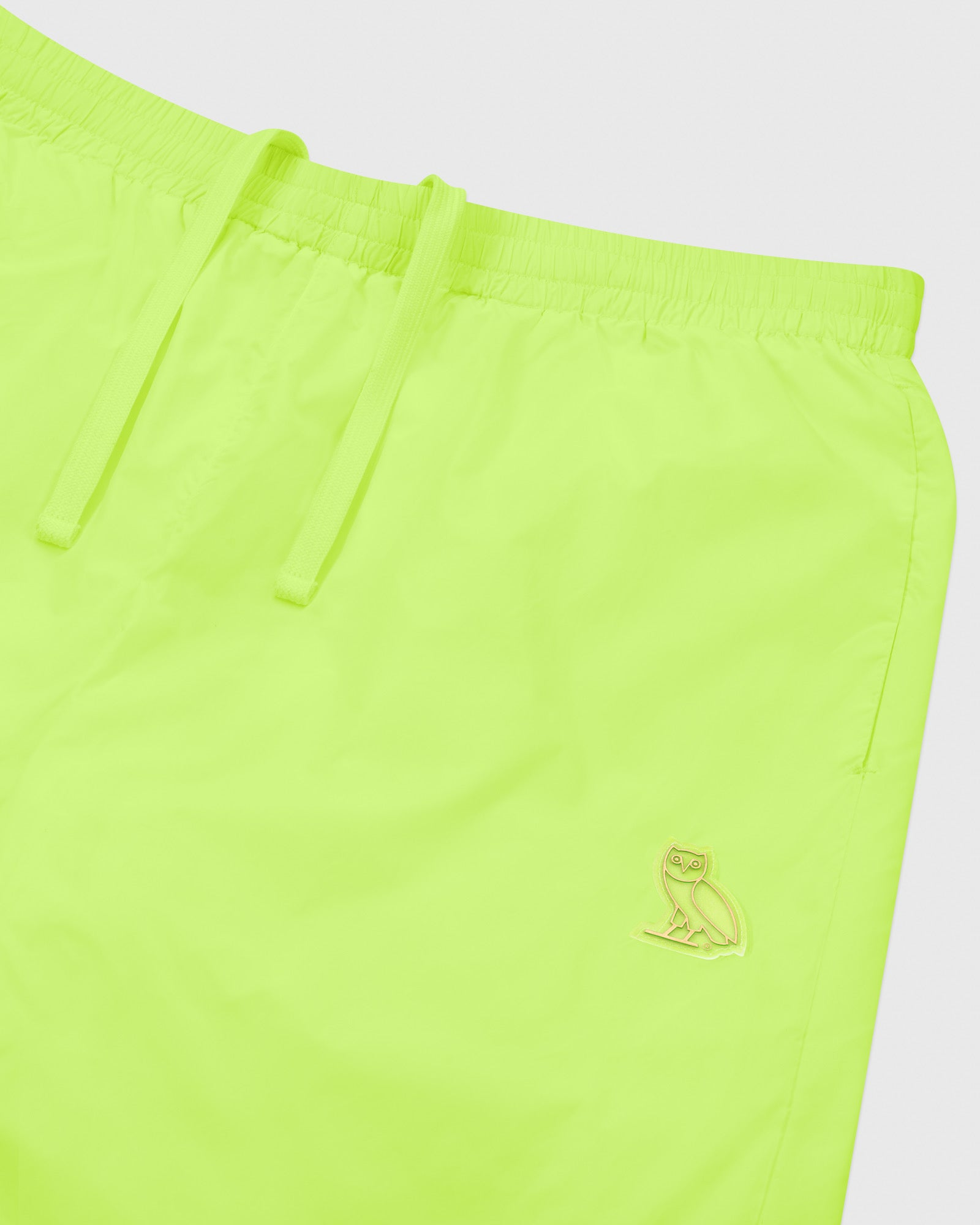 OVO NYLON PACKABLE PANT - NEON GREEN IMAGE #3
