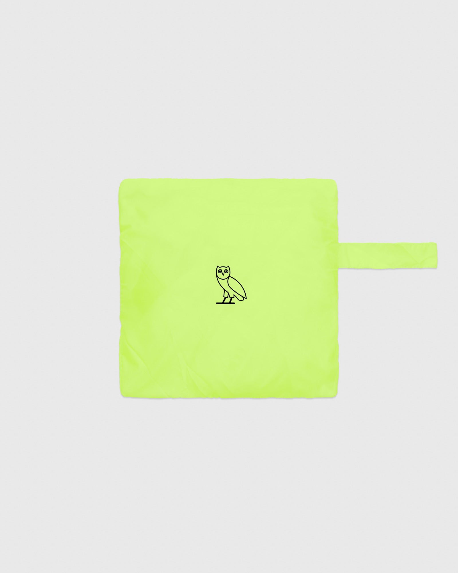 OVO NYLON PACKABLE PANT - NEON GREEN IMAGE #5