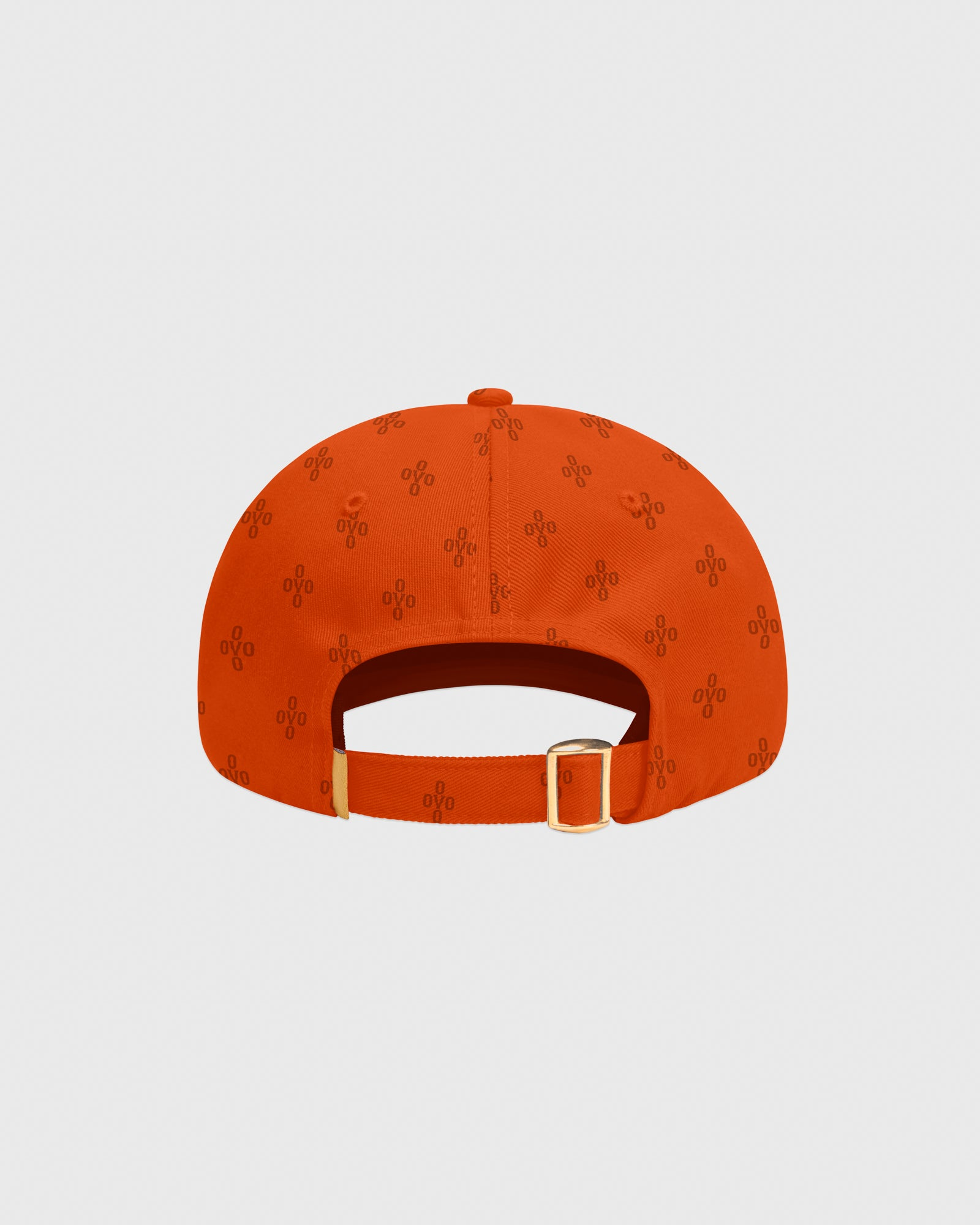 OVO MONOGRAM TWILL CAP - ORANGE IMAGE #4