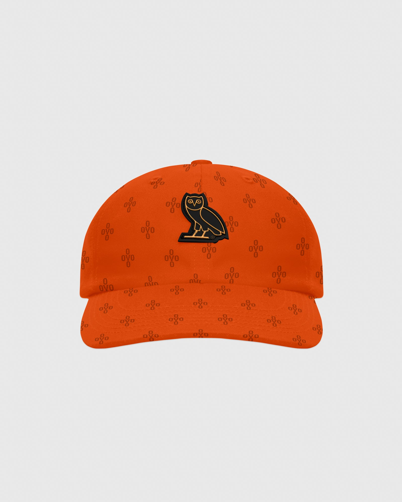 OVO MONOGRAM TWILL CAP - ORANGE IMAGE #1