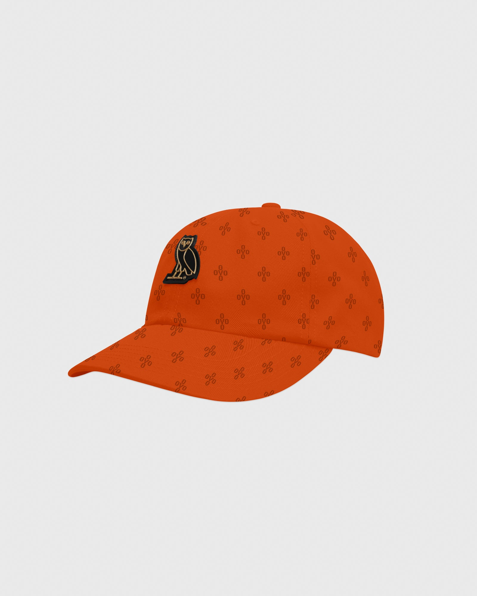 OVO MONOGRAM TWILL CAP - ORANGE IMAGE #3