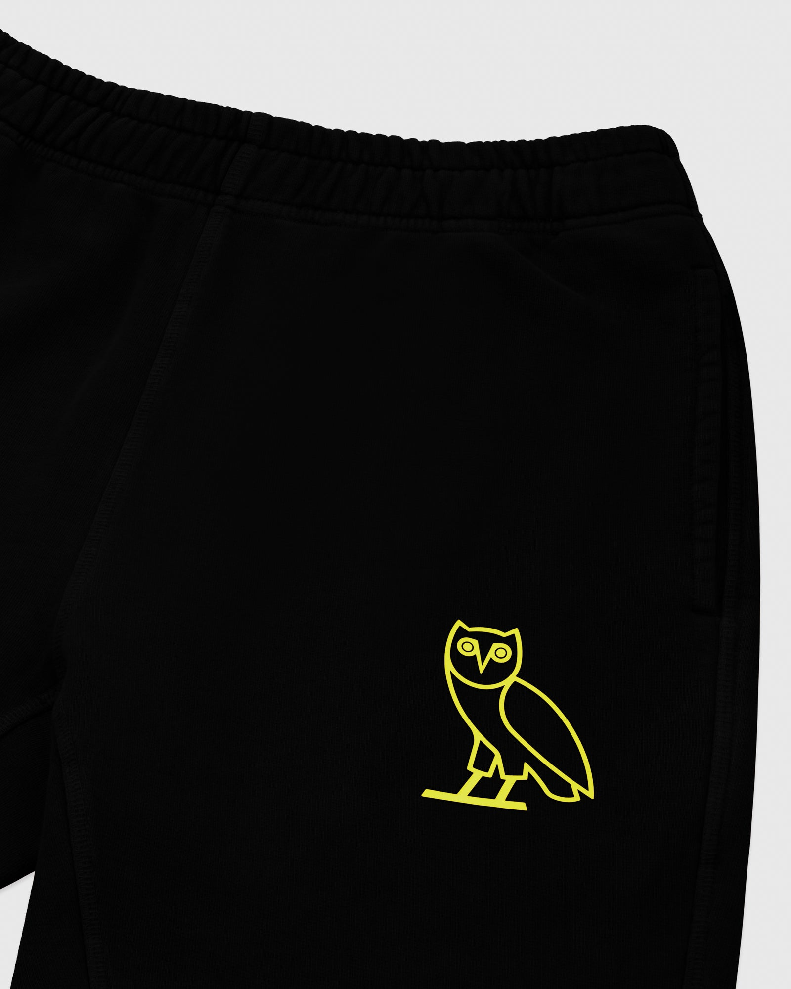 OVO FRENCH TERRY SHORT - BLACK
