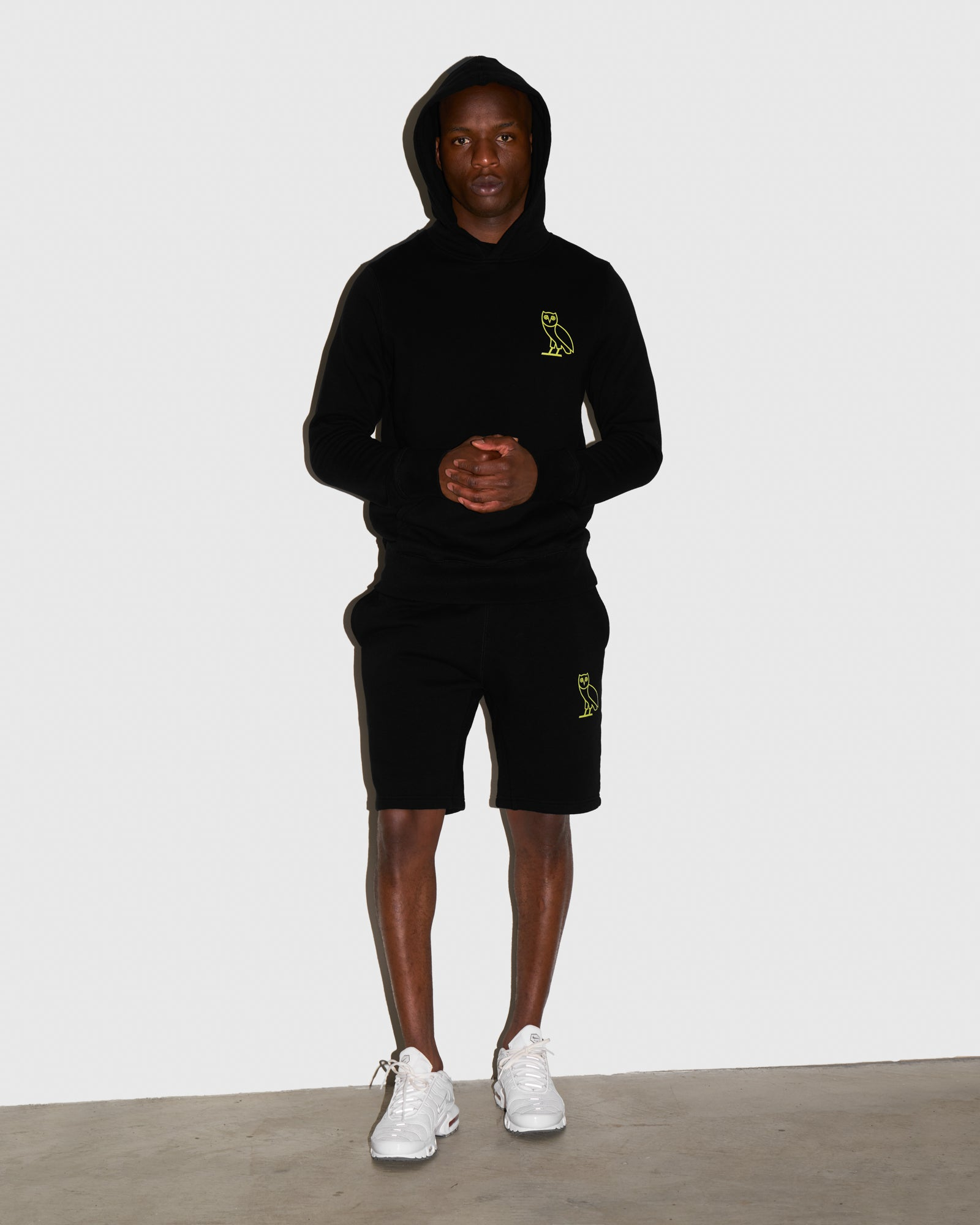 OVO FRENCH TERRY SHORT - BLACK IMAGE #2