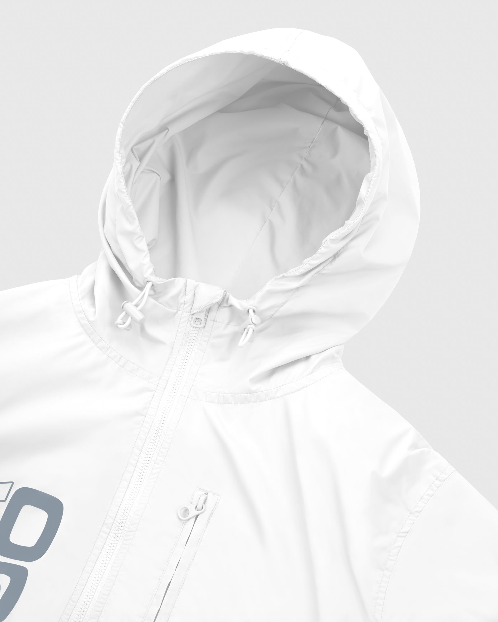 RACER PACKABLE JACKET - WHITE IMAGE #4
