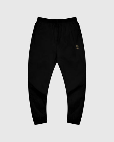 OVO NYLON PACKABLE PANT - BLACK