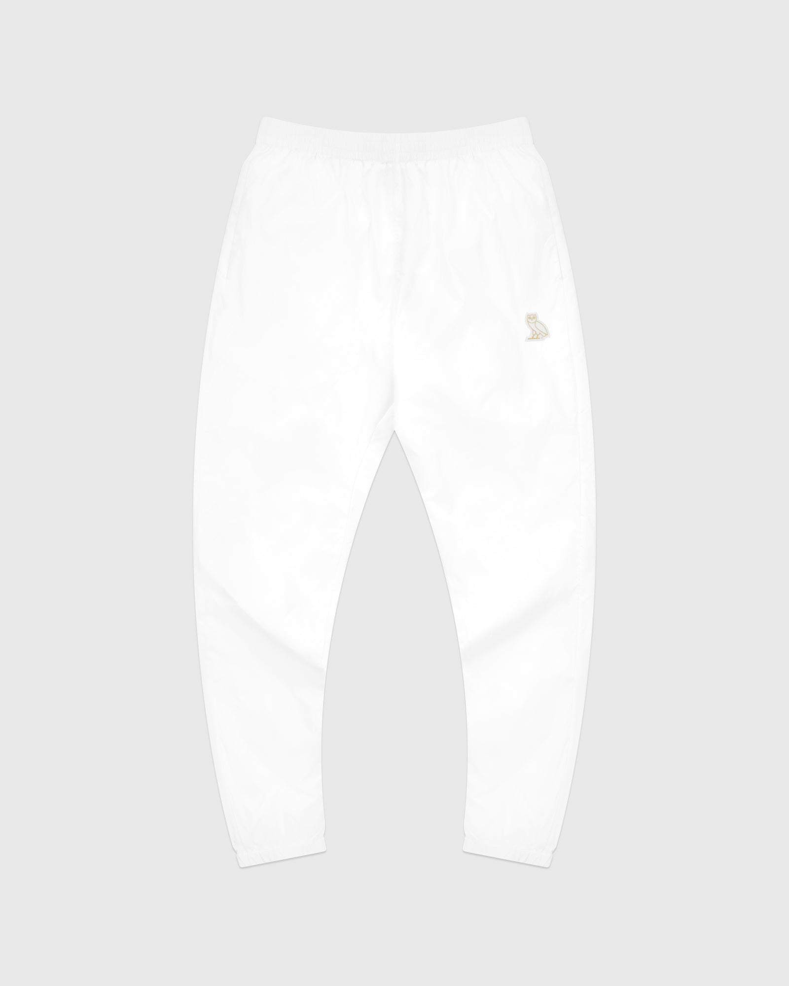 OVO NYLON PACKABLE PANT - WHITE