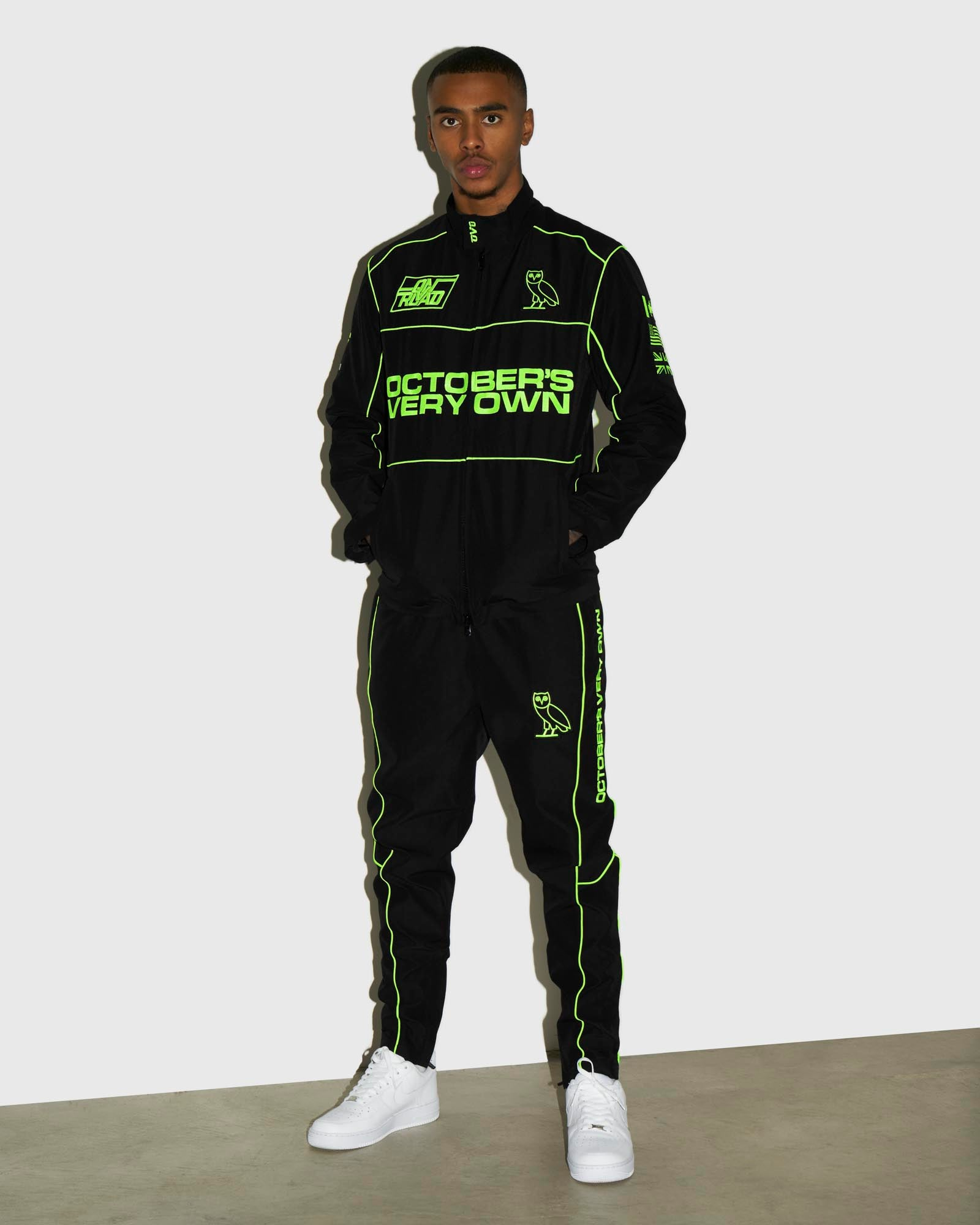NYLON TEAM RACE PANT - BLACK IMAGE #2