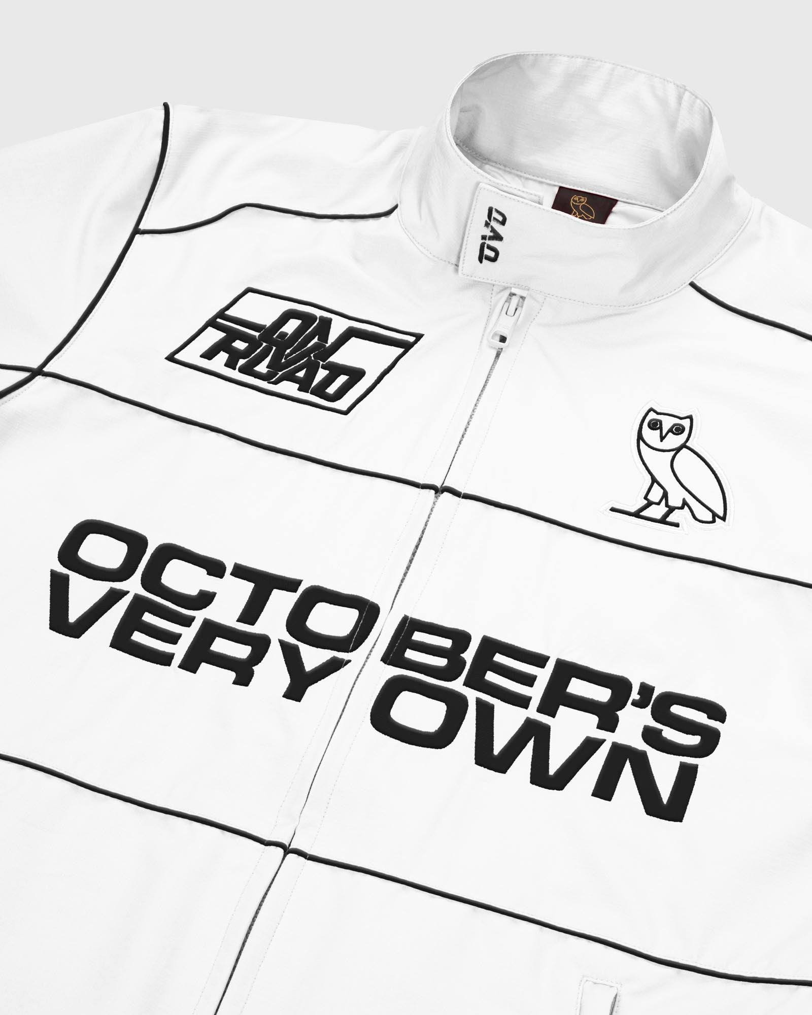 NYLON TEAM RACE JACKET - WHITE IMAGE #3