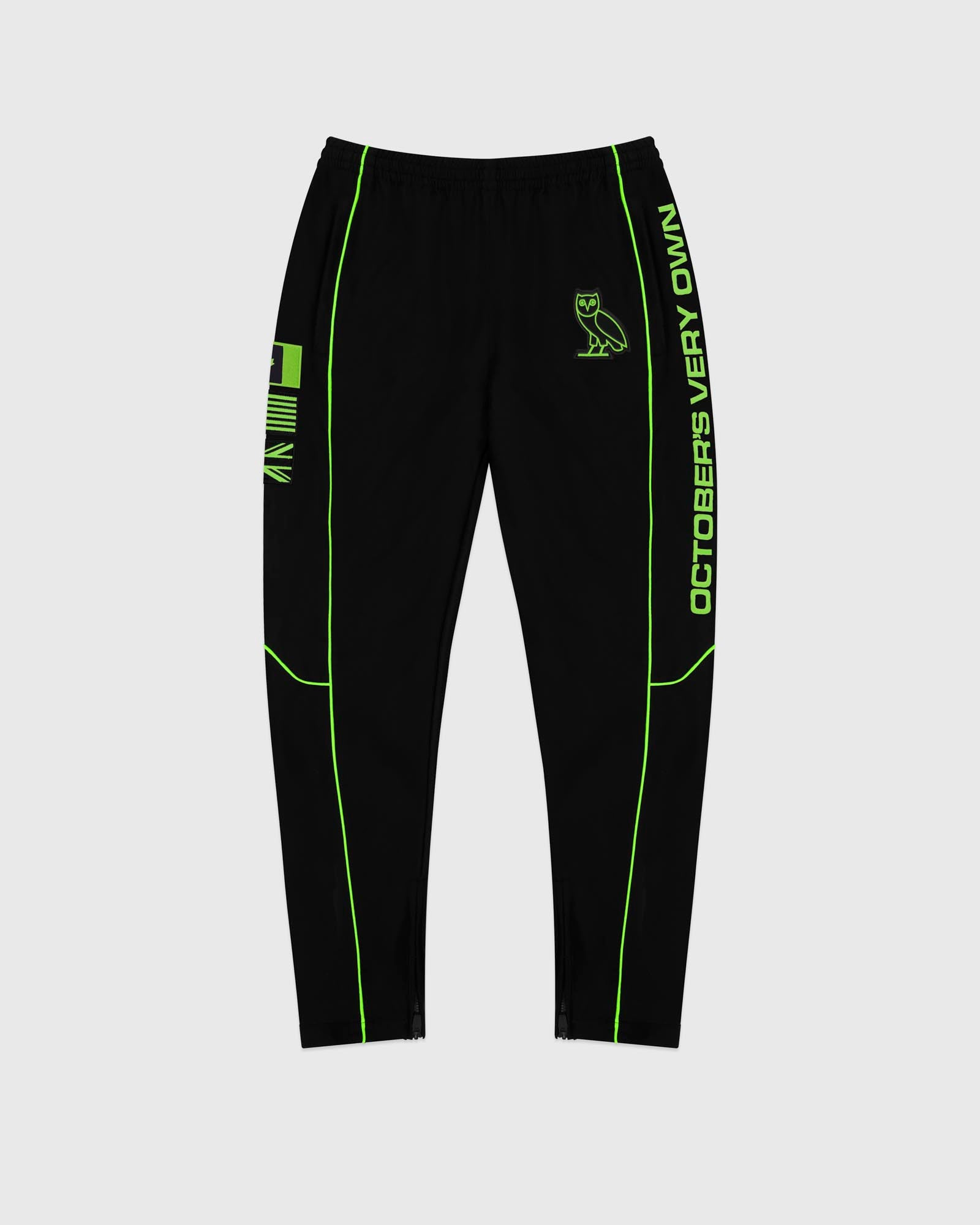 NYLON TEAM RACE PANT - BLACK IMAGE #1