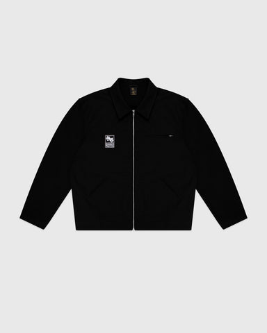 OCTOBER CANVAS JACKET - BLACK
