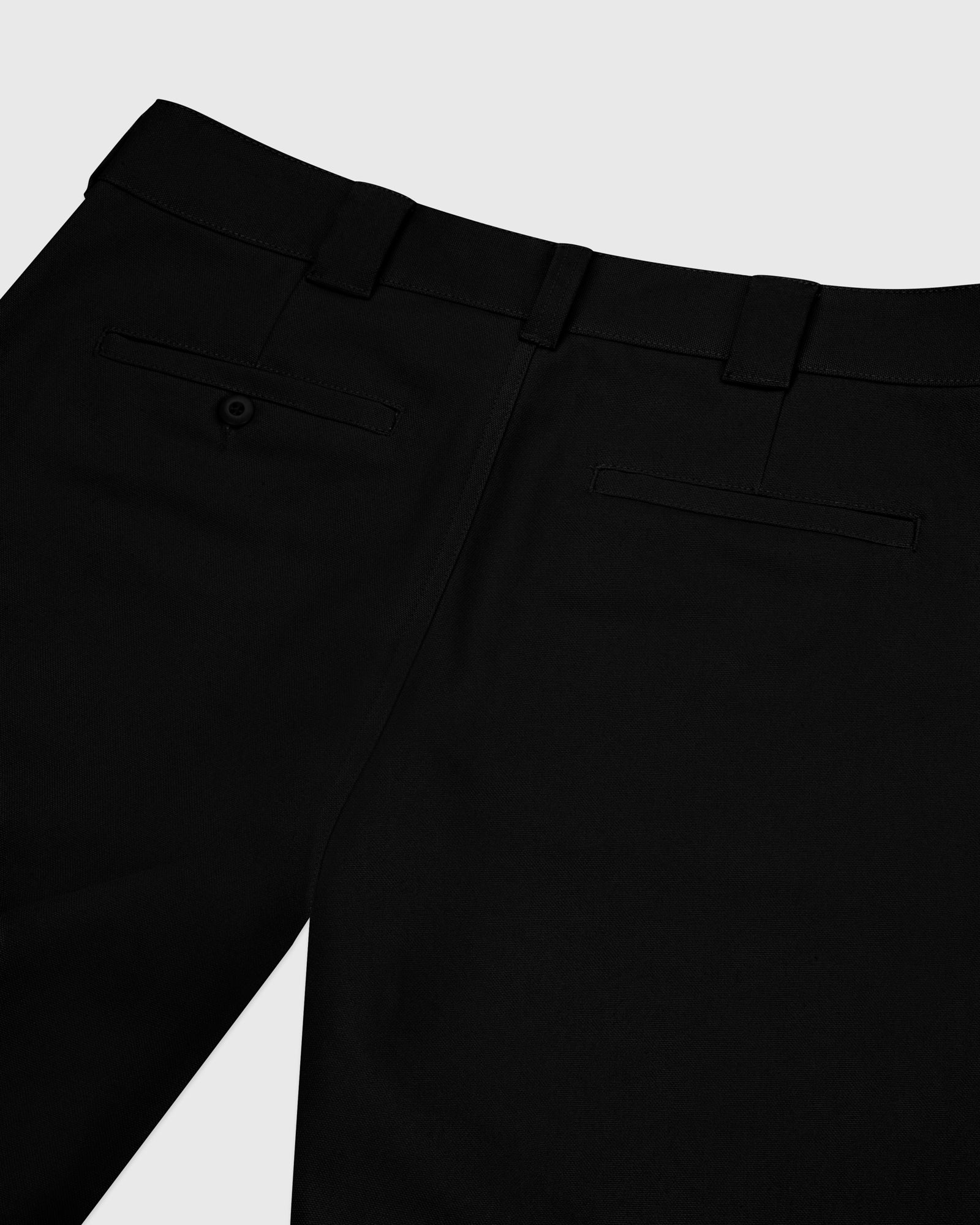 OCTOBER CANVAS PANT - BLACK IMAGE #4