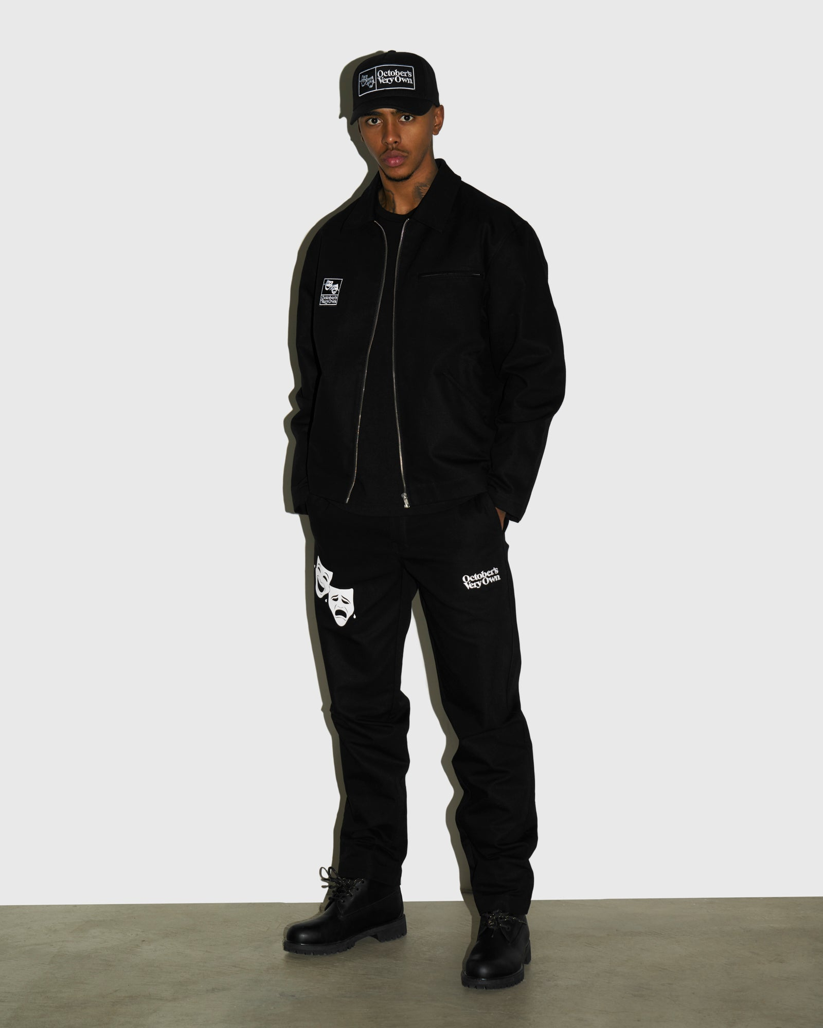 OCTOBER CANVAS PANT - BLACK IMAGE #2