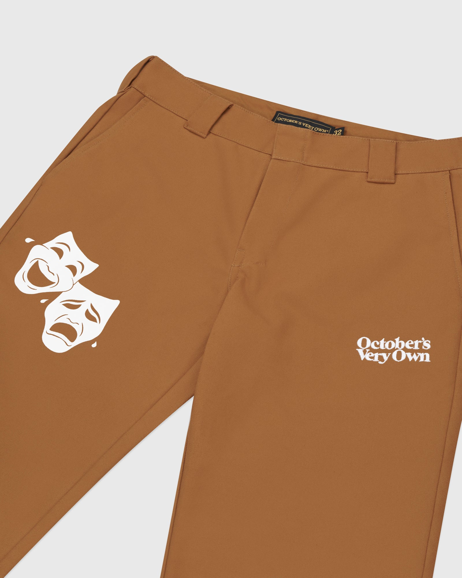 OCTOBER CANVAS PANT - BROWN IMAGE #3