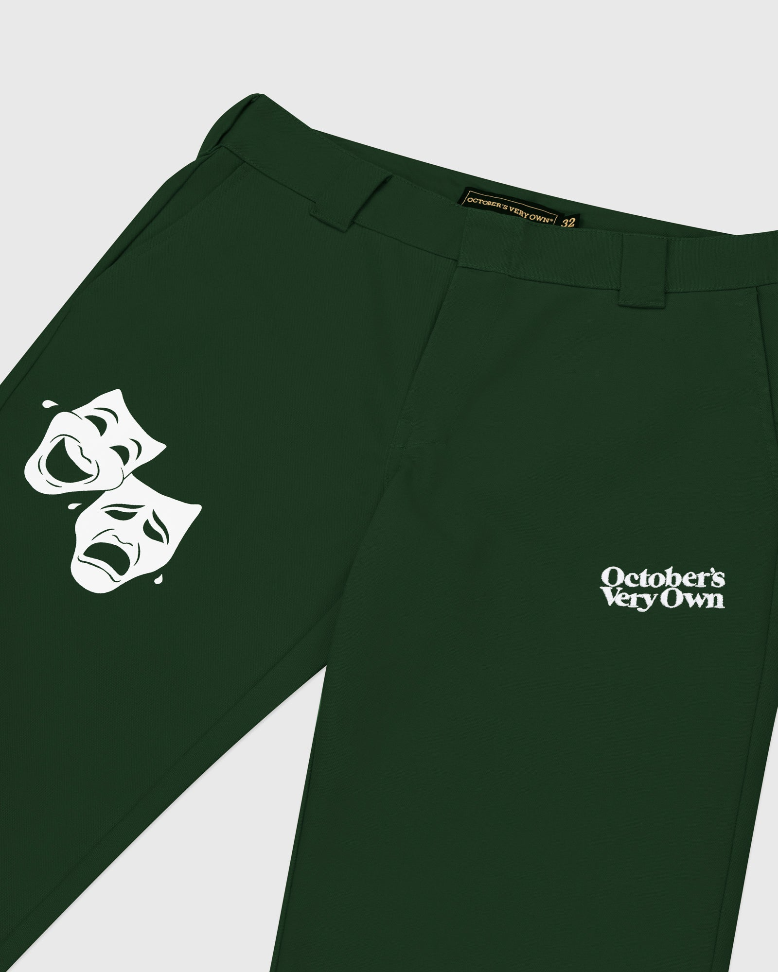 OCTOBER CANVAS PANT - DARK GREEN IMAGE #3
