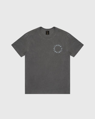 CIRCLE SPELL OUT T-SHIRT - BLACK