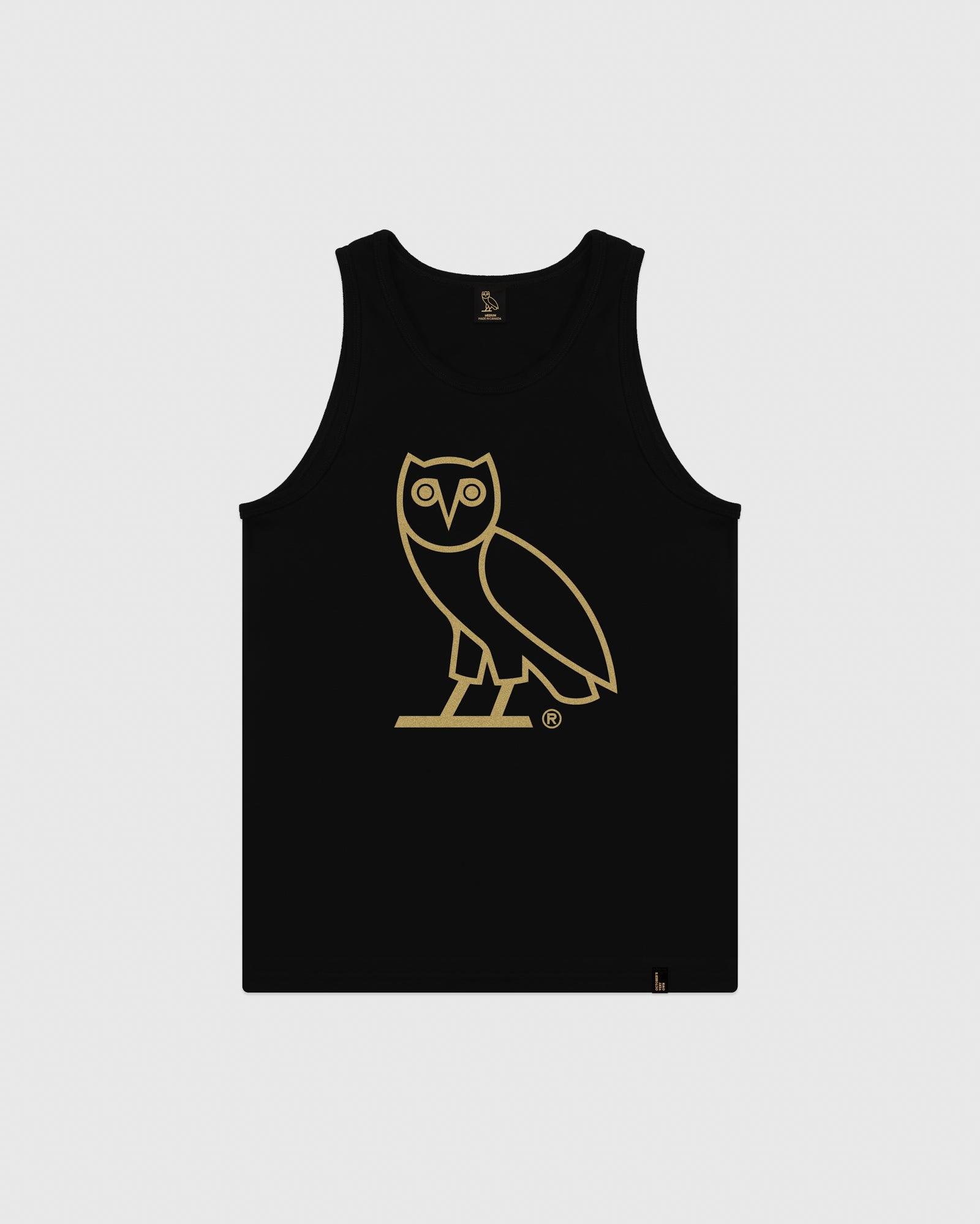 OVO OWL TANK TOP - BLACK