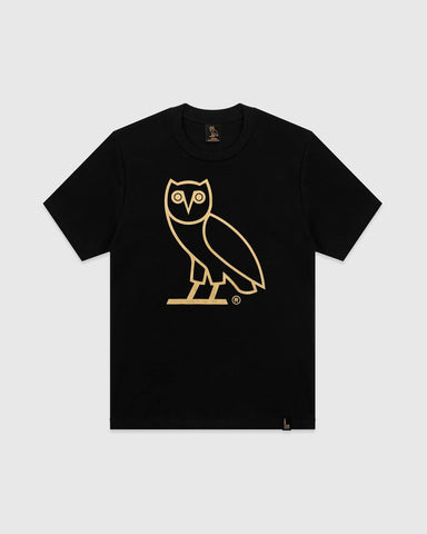 OG OWL T-SHIRT - BLACK